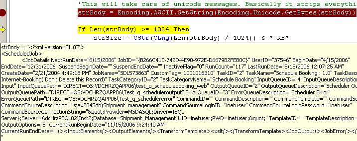How to convert/display a unicode string in vb net   Nishant Pant's